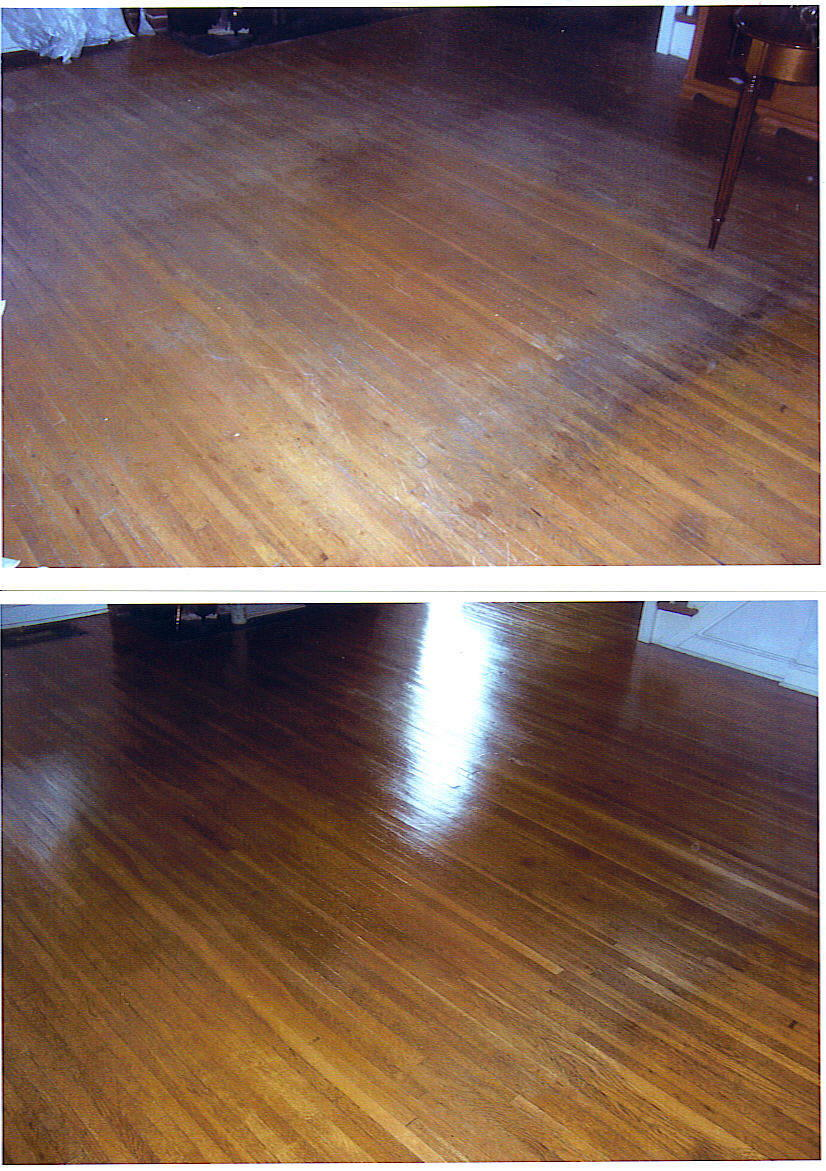 Old hardwood floor